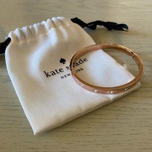 Kate Spade Rose Gold Diamond Bracelet